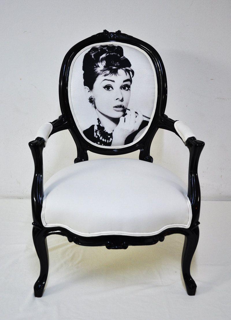Love These Audrey Hepburn Vintage Armchair By Namedesignstudio On