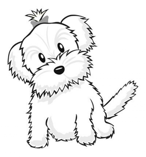 Yorkiecoloringpages Color A Puppy Kidswoodcrafts In 2020 Puppy Coloring Pages Dog Coloring Page Love Coloring Pages