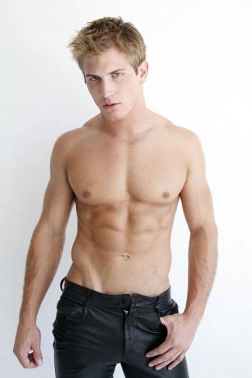 models Teen male swimsuit