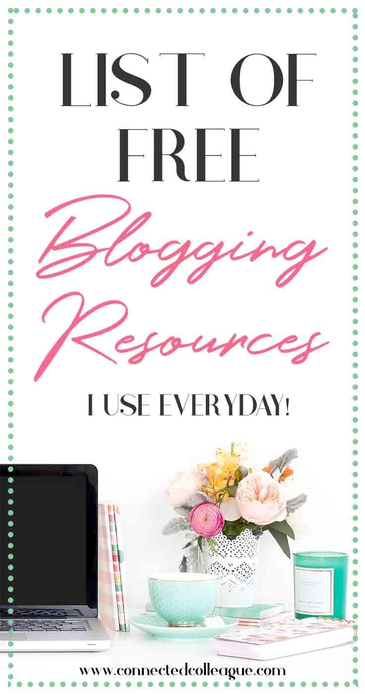 Top Free Resources I use for my Blog and Virtual Assistant