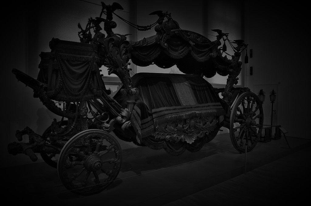 Sisis Leichenwagen Hofsattlerei Wien 1876 77 Khm Wgbg Inv Nr W