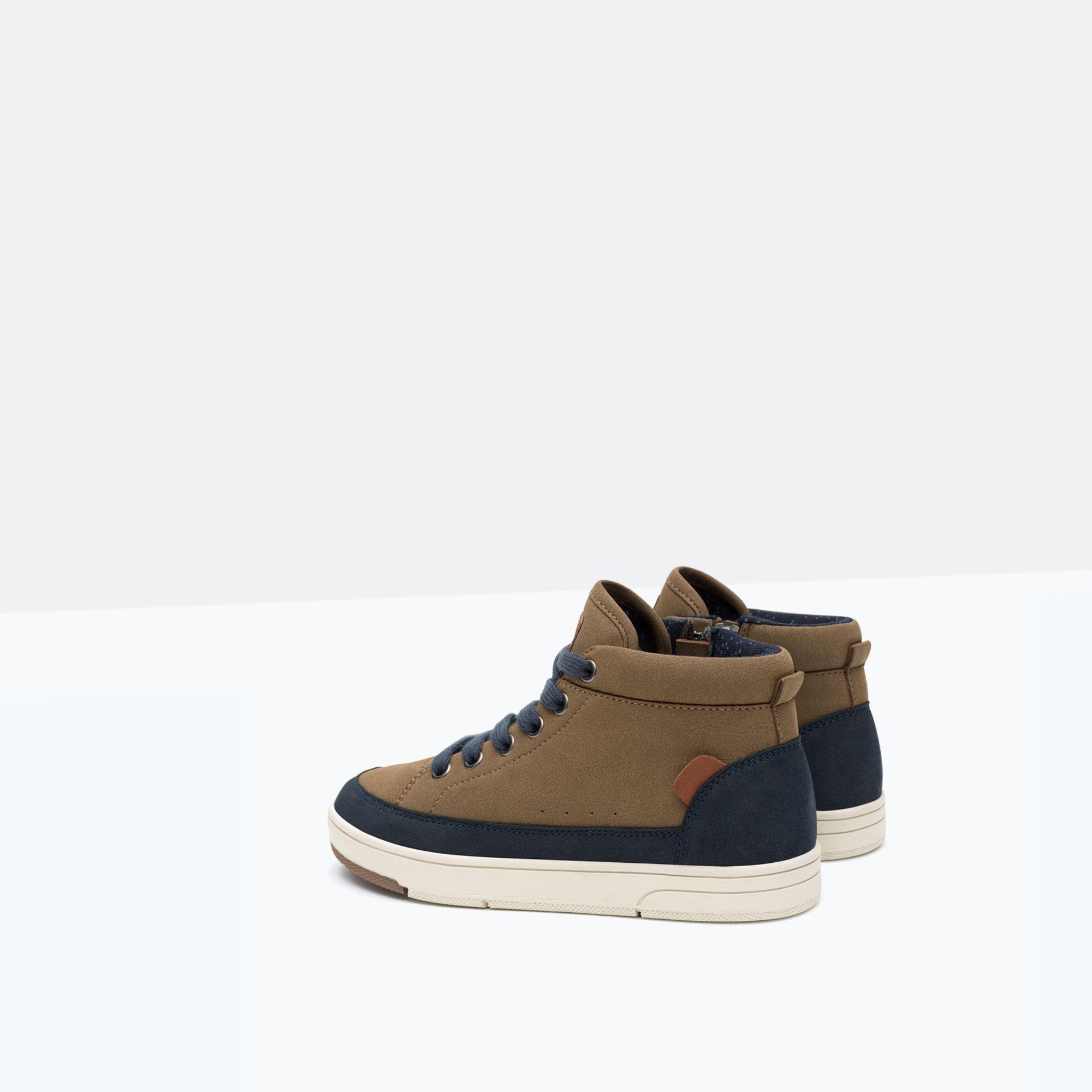 d3c8cae9 BASKET DETALLE TALÓN - Zapatos - Niño - Niños | 4 - 14 años - NIÑOS | ZARA  España