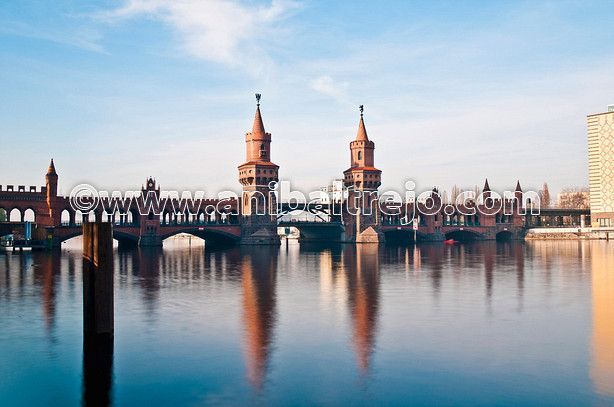 The Oberbaumbrucke bridge at Berlin, Germany by Anibal Trejo