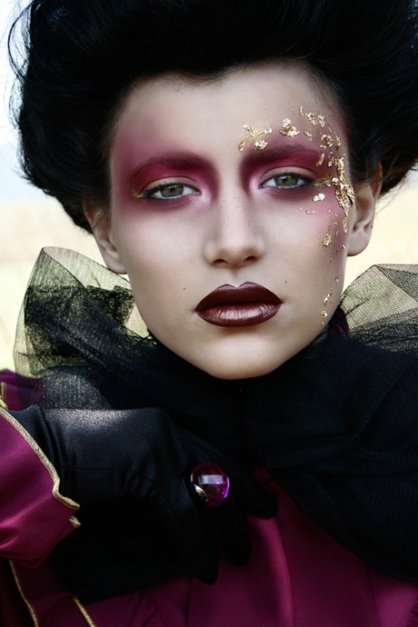 Baroque Inspired Fantasy Makeup Fashion Editorial Makeup Artistry Makeup