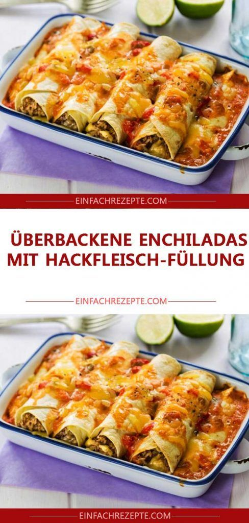 Photo of Baked enchiladas with minced meat filling 😍 😍 😍
