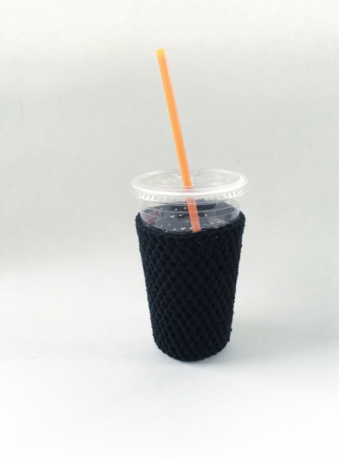 iced medium coffee cozy. black coffee cozy. crochet cup cozy. Cotton cup sleeve. Eco friendly cup sleeve. Summer drink cozy. iced cup cozy. by SalemStyle on Etsy https://www.etsy.com/listing/287252253/iced-medium-coffee-cozy-black-coffee