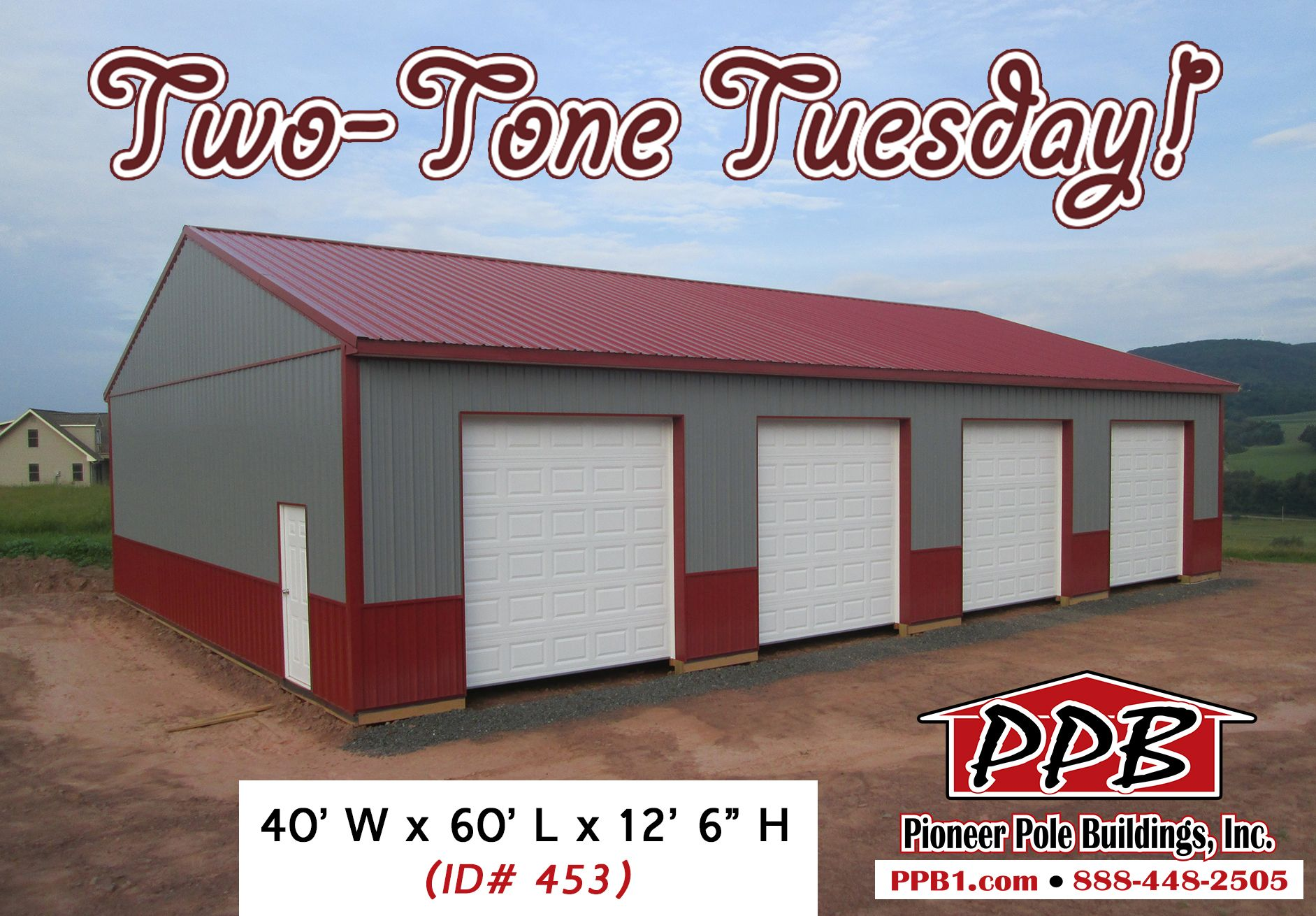 A nice 4 car garage for this two tone tuesday dimensions for 4 car garage dimensions