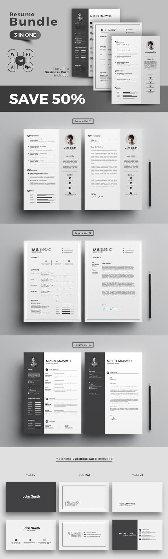 ResumeCV Bundle ResumeCV Bundle Resume cv