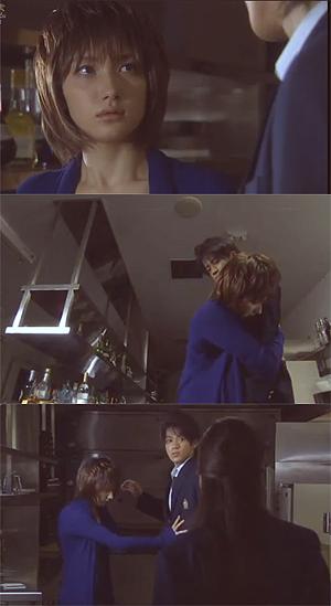 Shinichi And Shiho In Detective Conan Live Action I LOVE AI HAIBARA