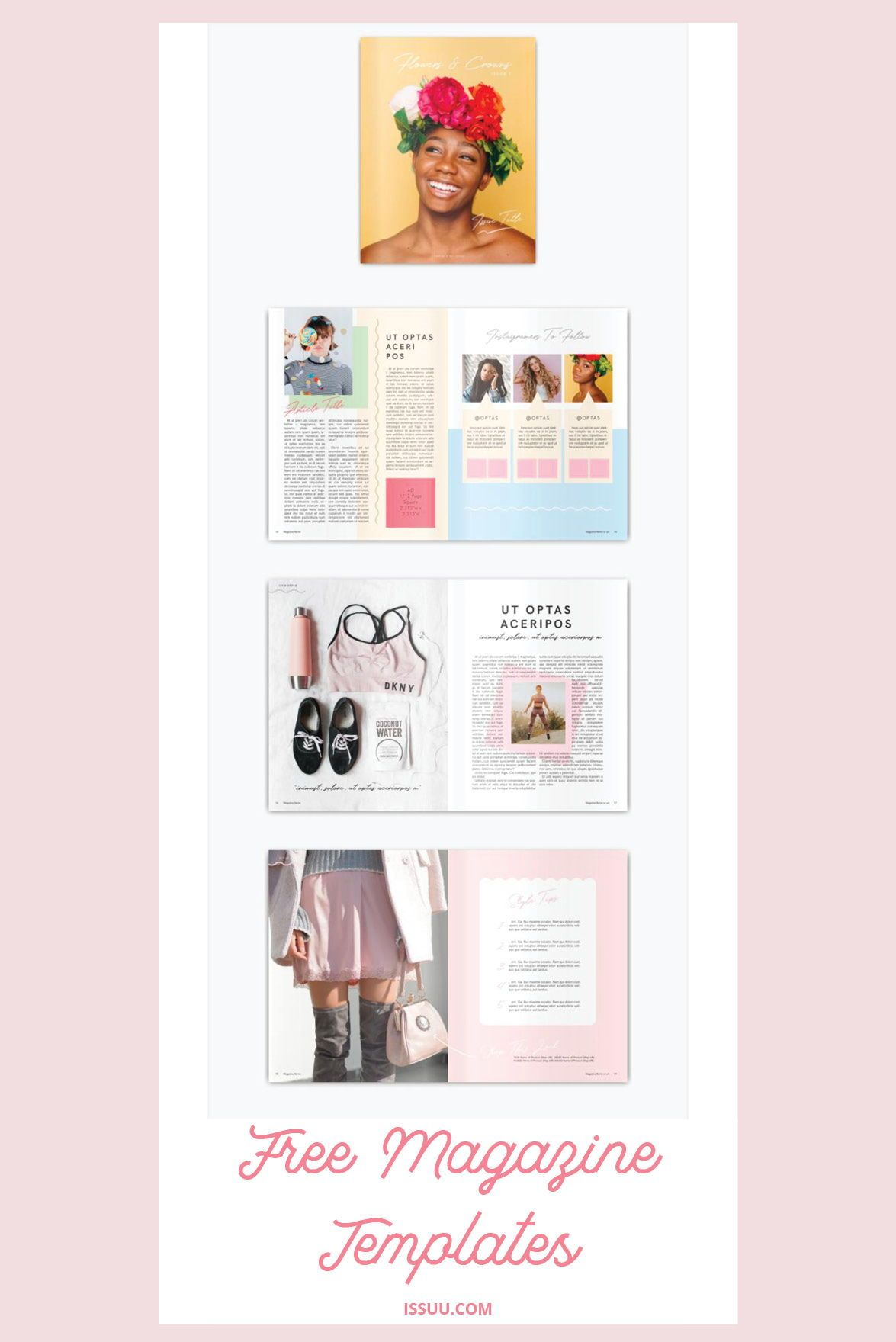 new magazine and catalogue templates for brands bloggers and