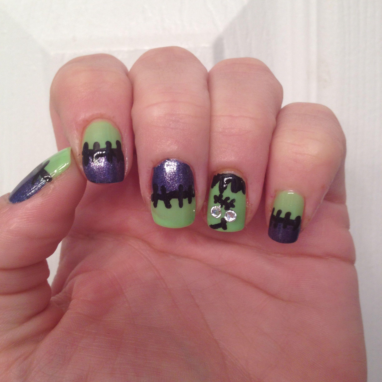 My attempt at Frankenstein nails