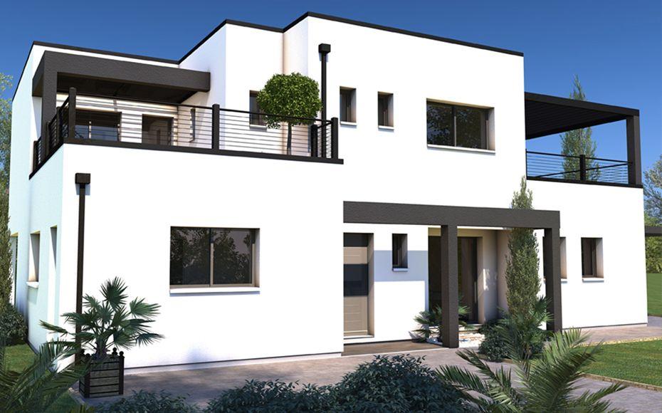 Découvrez ce modèle de maison contemporaine, Albireo, 5 chambres