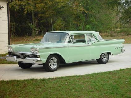 Classic 1959 Ford Custom 2 Door Sedan For Sale In Commerce Georgia