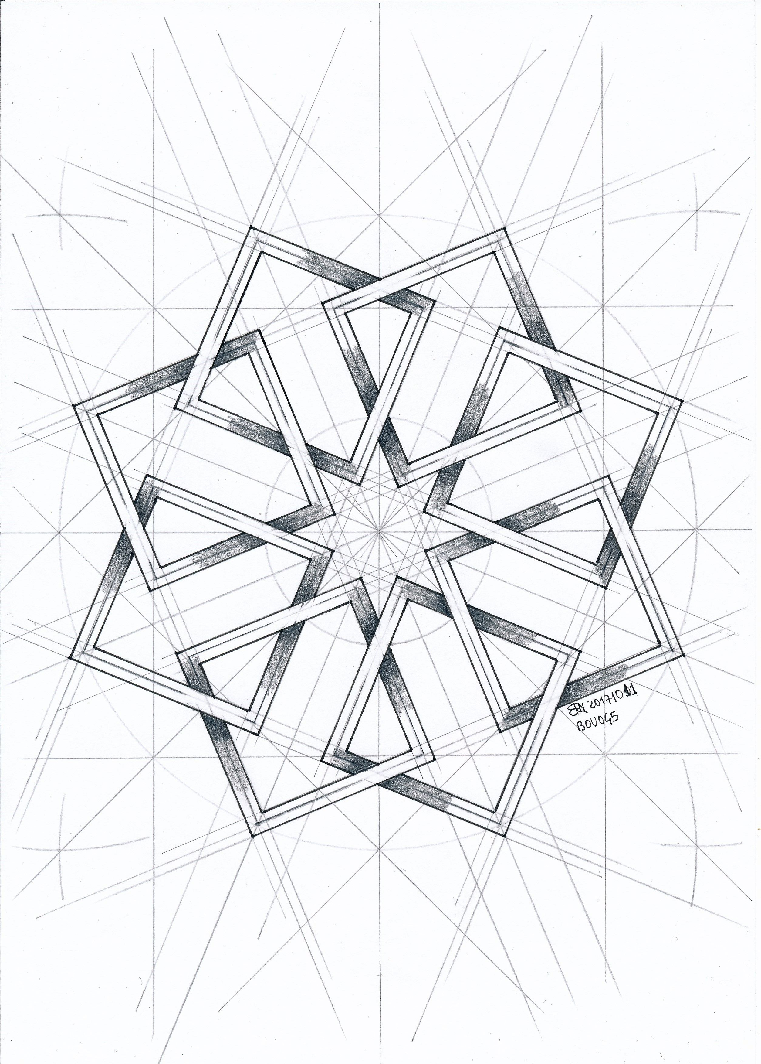 Pin By Gus Costa On Draw Geometric Drawing Islamic Art