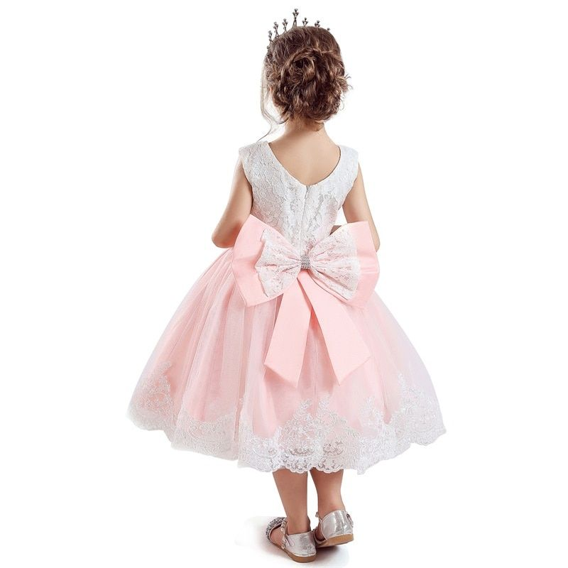 Cute baby girl dress new year red christmas party dress