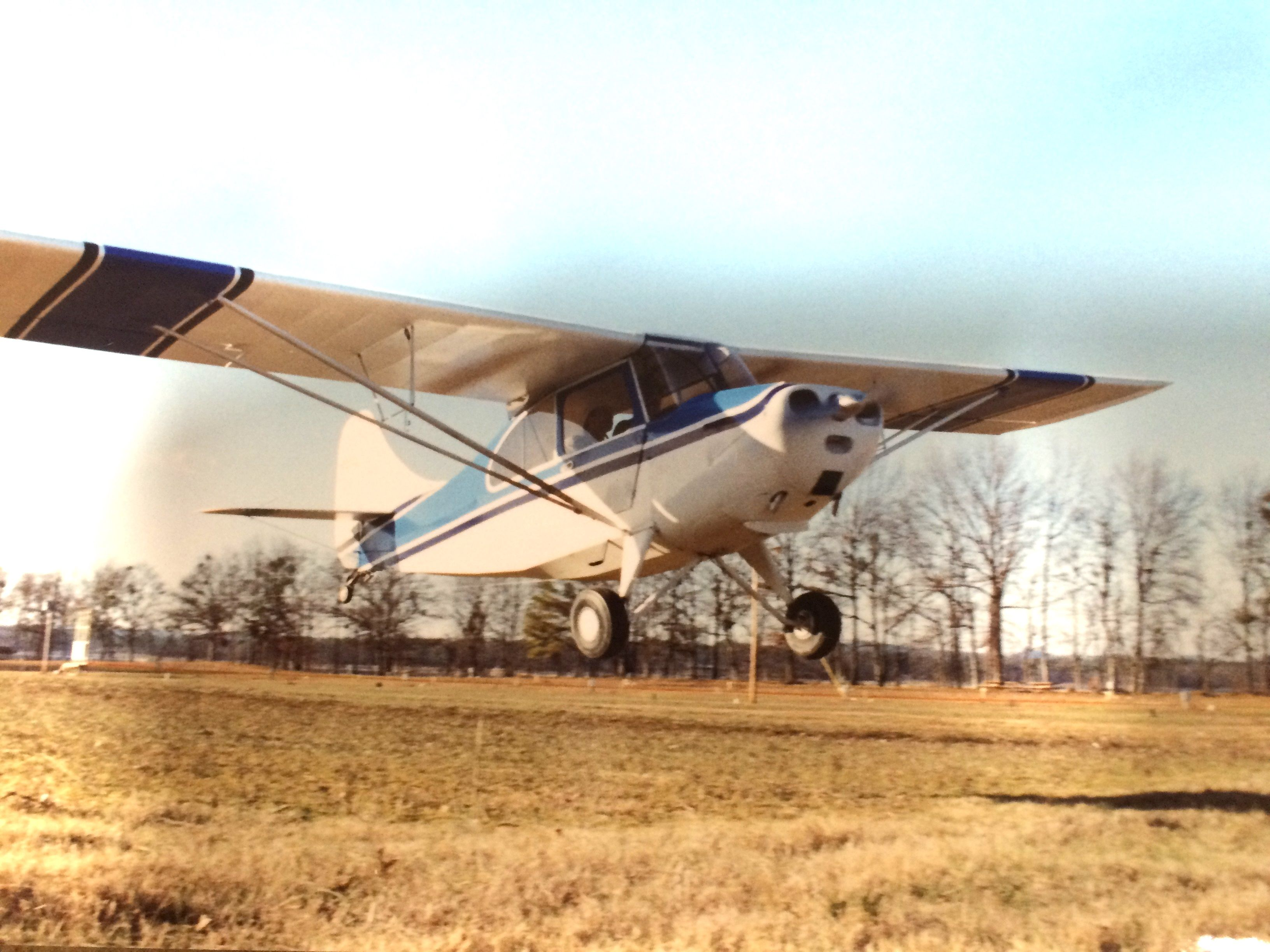 The 7AC, Champ I soloed in. N2486E, belonged to my father, an A/P IA, who sold it to a fellow in Alabama. I have right of first refusal when he decides to sell it.