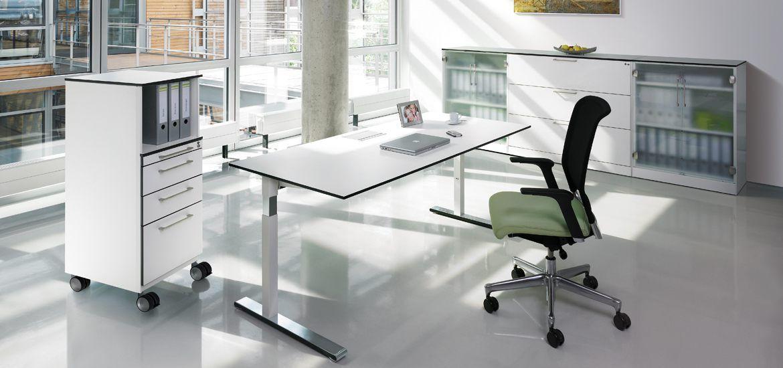 Steh-Sitz-Tisch C+P Cegano - C+P Möbelsysteme GmbH & Co.KG