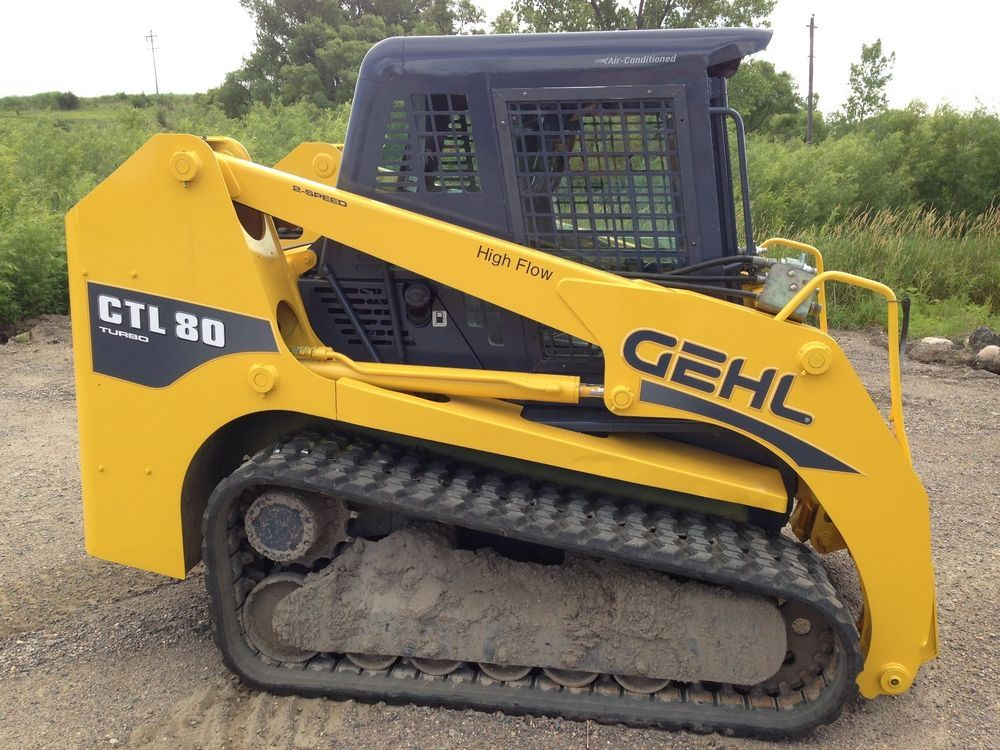 2004 GEHL CTL80 Track Skid Steer Loader Skid Steer