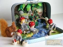 Image result for suitcase dollhouse waldorf