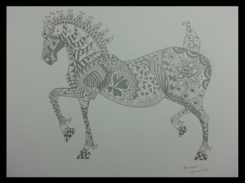 Tattoos Horse Sketches Horse Tattoo Love Drawings