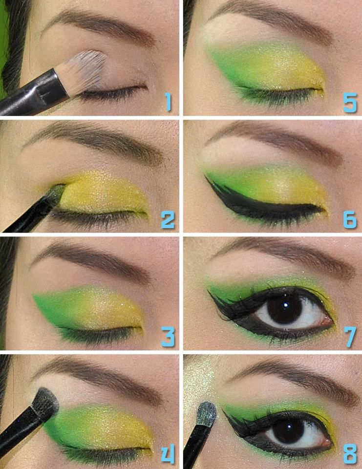 Candyloveart My Tinkerbell Makeup Tutorial Tinkerbell Makeup Disney Makeup Makeup