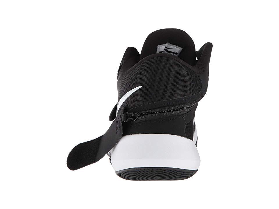 Nike Air Precision II FlyEase Men s Basketball Shoes Black White Volt 25124c6fd