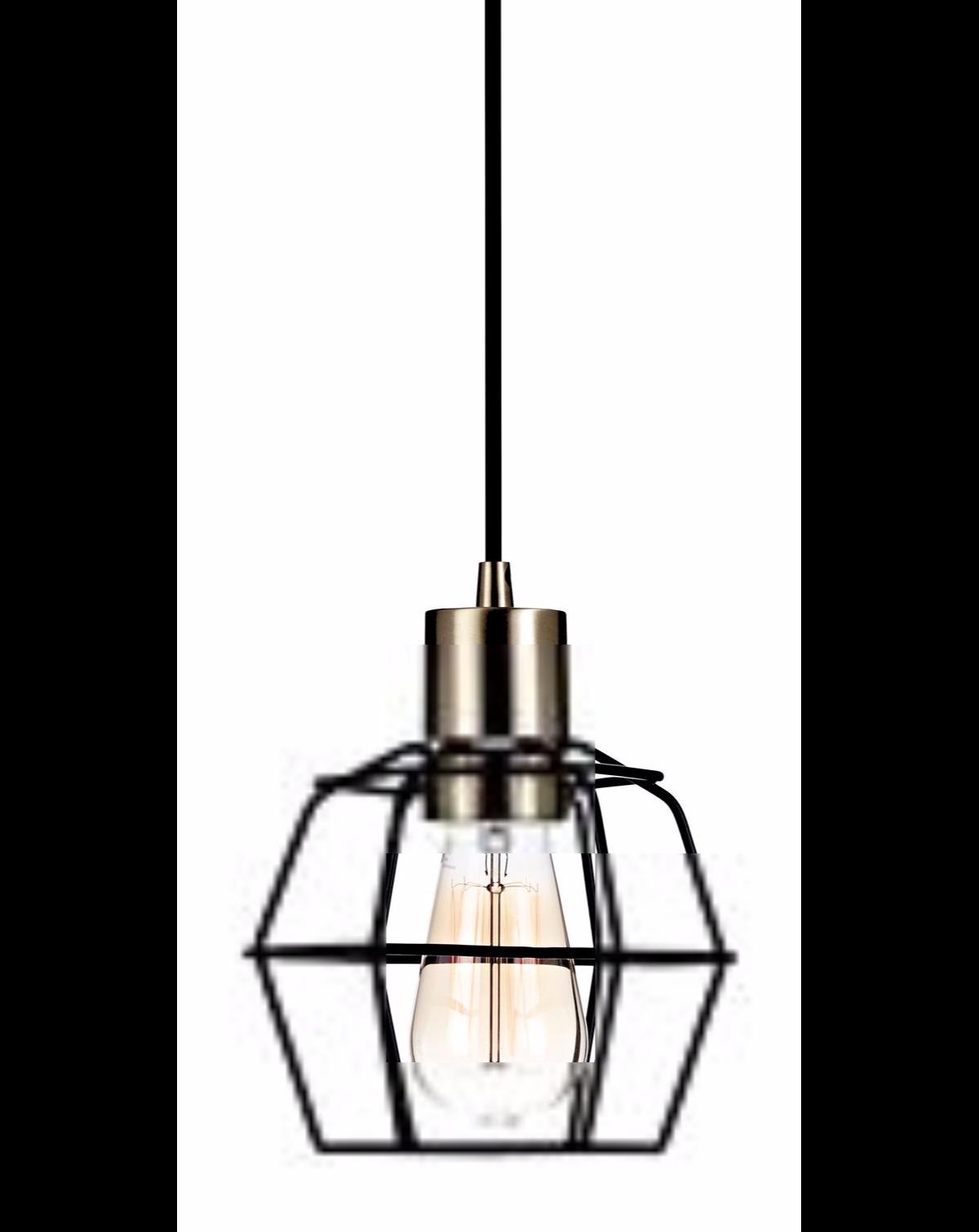 CANVAS Mercantile Pendant Light, Black