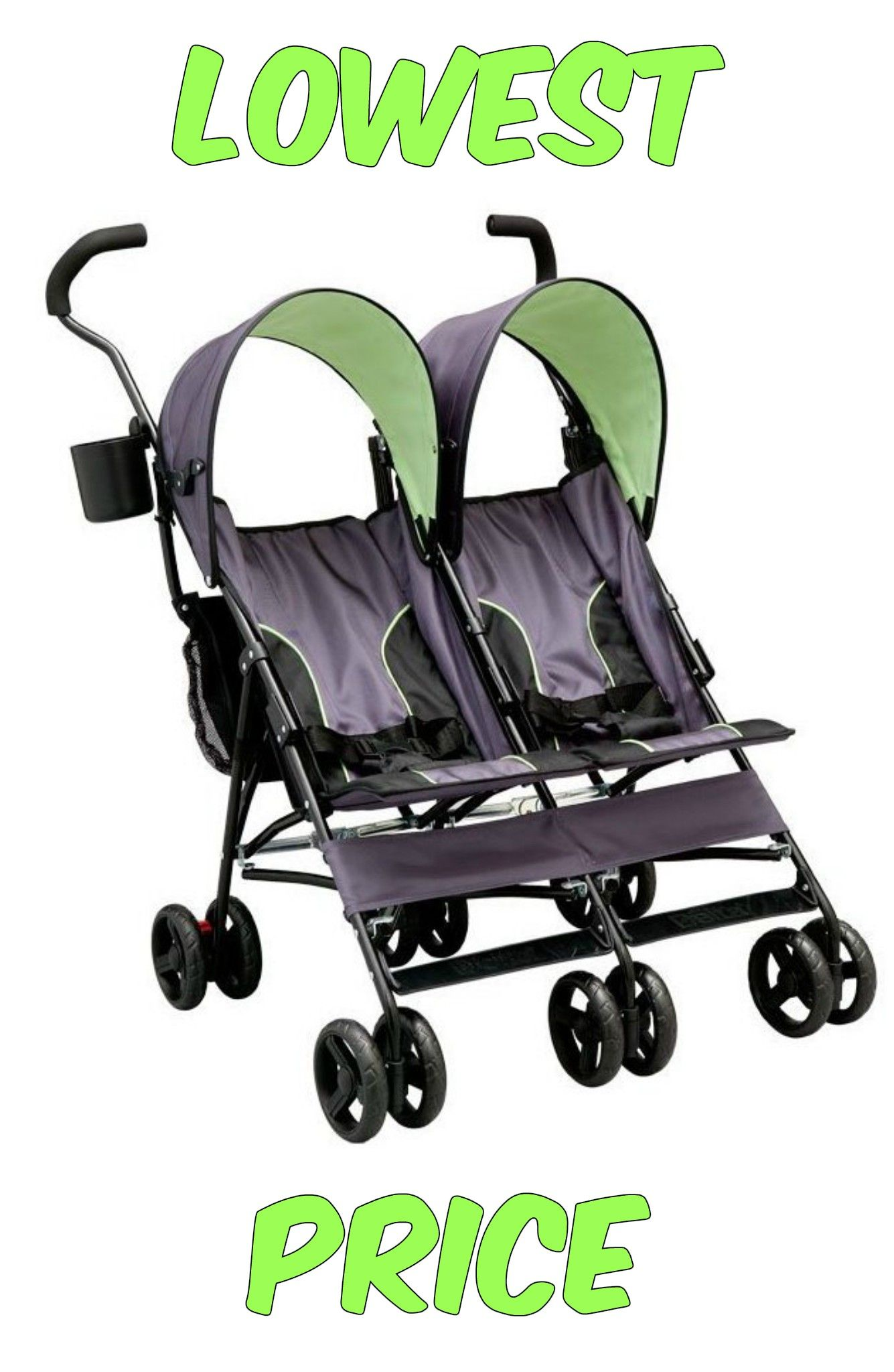 LX Side by Side Tandem Umbrella Stroller Just $54 71 Shipped