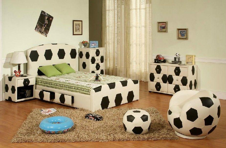 Soccer Theme Teen Boys Room Decor Ideas Bedroom Decor