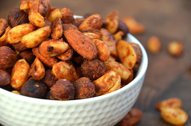 Twin Food: SPICY NUTS