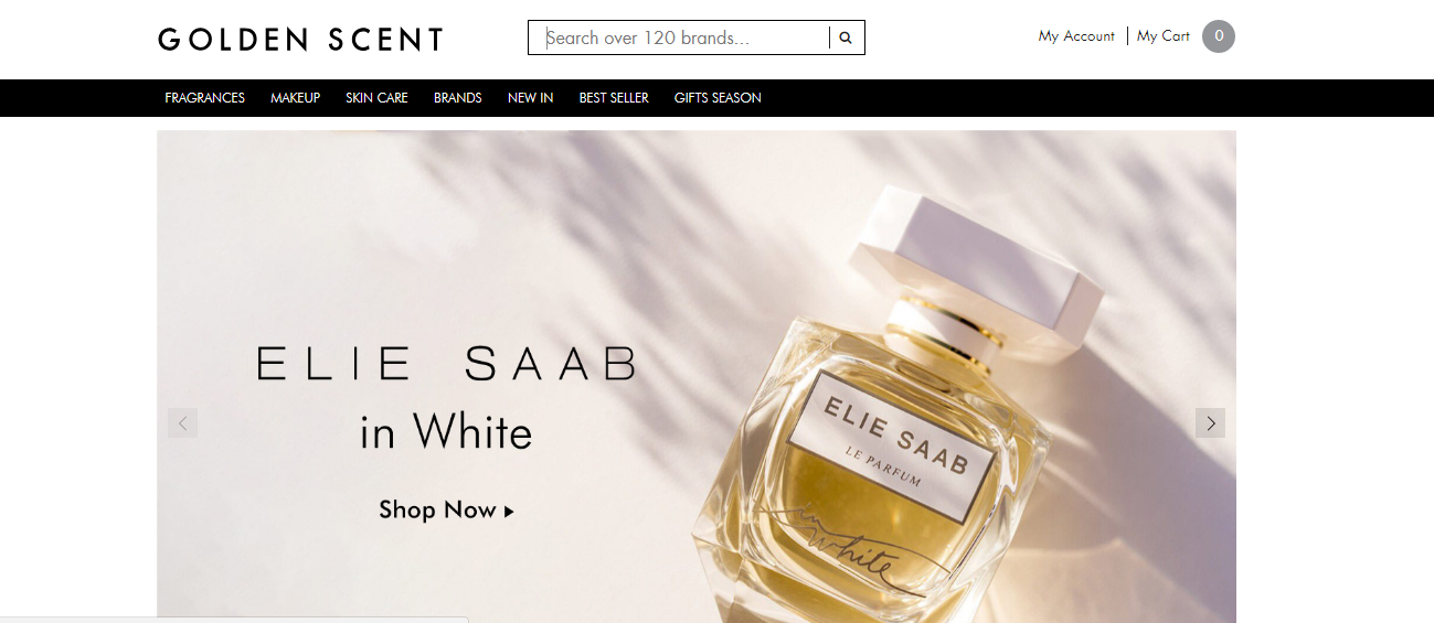 GoldenScent is a #Cosmetic store Products offered at Golden