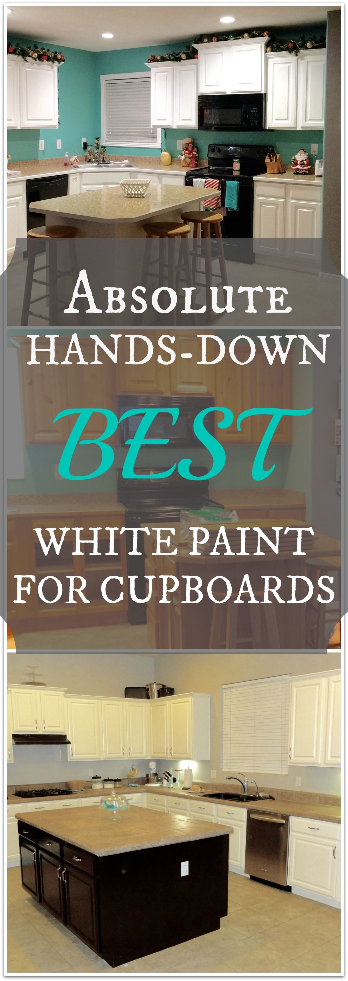 How to Paint Kitchen Cabinets White | Dulce hogar, La playa y Interiores