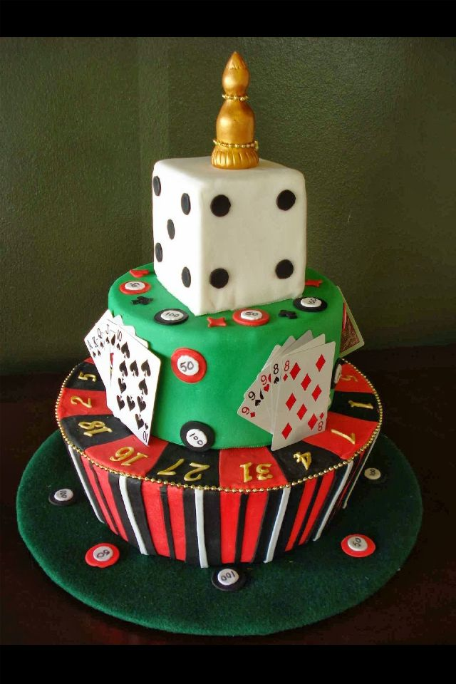 Casino Party Cake Perhaps Casino Royale To Be More Exact