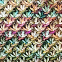 The Daisy stitch is a very easy stitch pattern! It looks ...