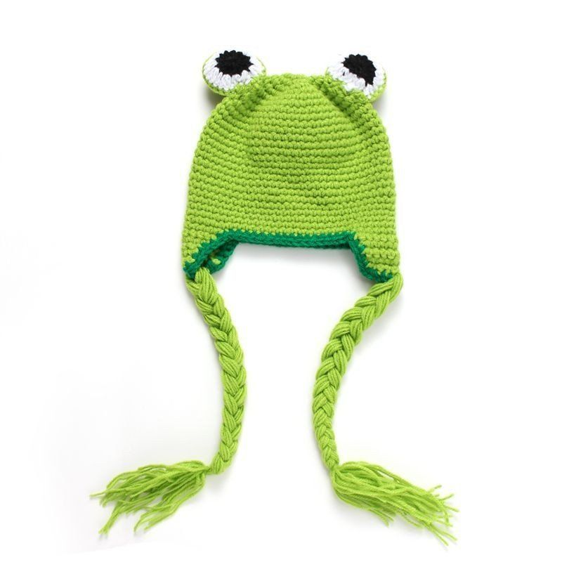 Frog Style Baby Hat | Crochet & Knitting & Sewing | Pinterest