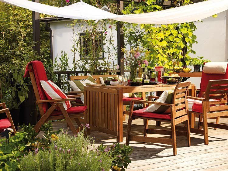Outdoor Decor Amazing Terraces And Balconies That Will Make You Fall In Love Ikea Outdoor Patio Inspiration Outdoor Decor