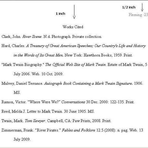 Sample Pages In Mla Format Mla Essay Mla Format