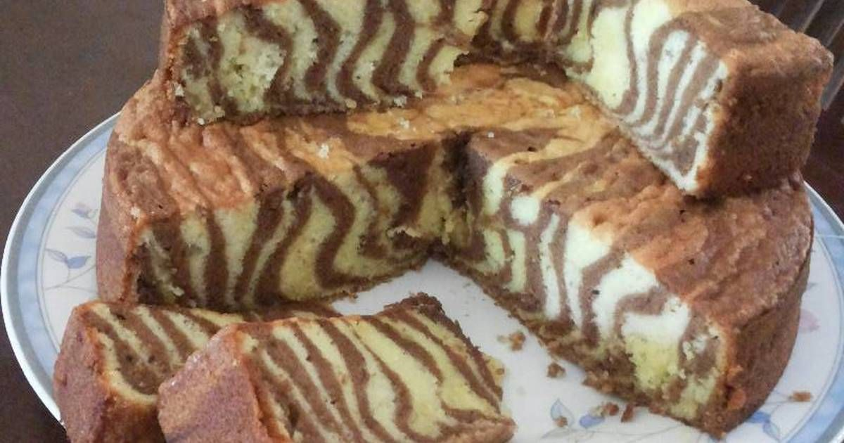 Resep Marmer Cake Kuno Oleh Yantie Resep Resep Resep Makanan Cemilan