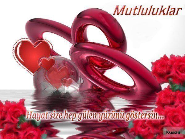 Evlilik Yildonumu Sozleri Resimli Guzel Sozler Happy Valentines Day Images Valentines Day Clipart Happy Valentines Day