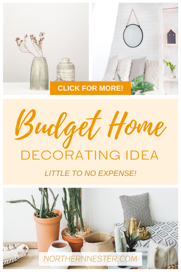 This budget home decorating idea will have you home interior looking extremely stylish in no time at all! Perfect for families on a budget, this idea is fantastic for everyone! #budgethomedecoratingidea #homedecoratingidea #budgethomedecorating