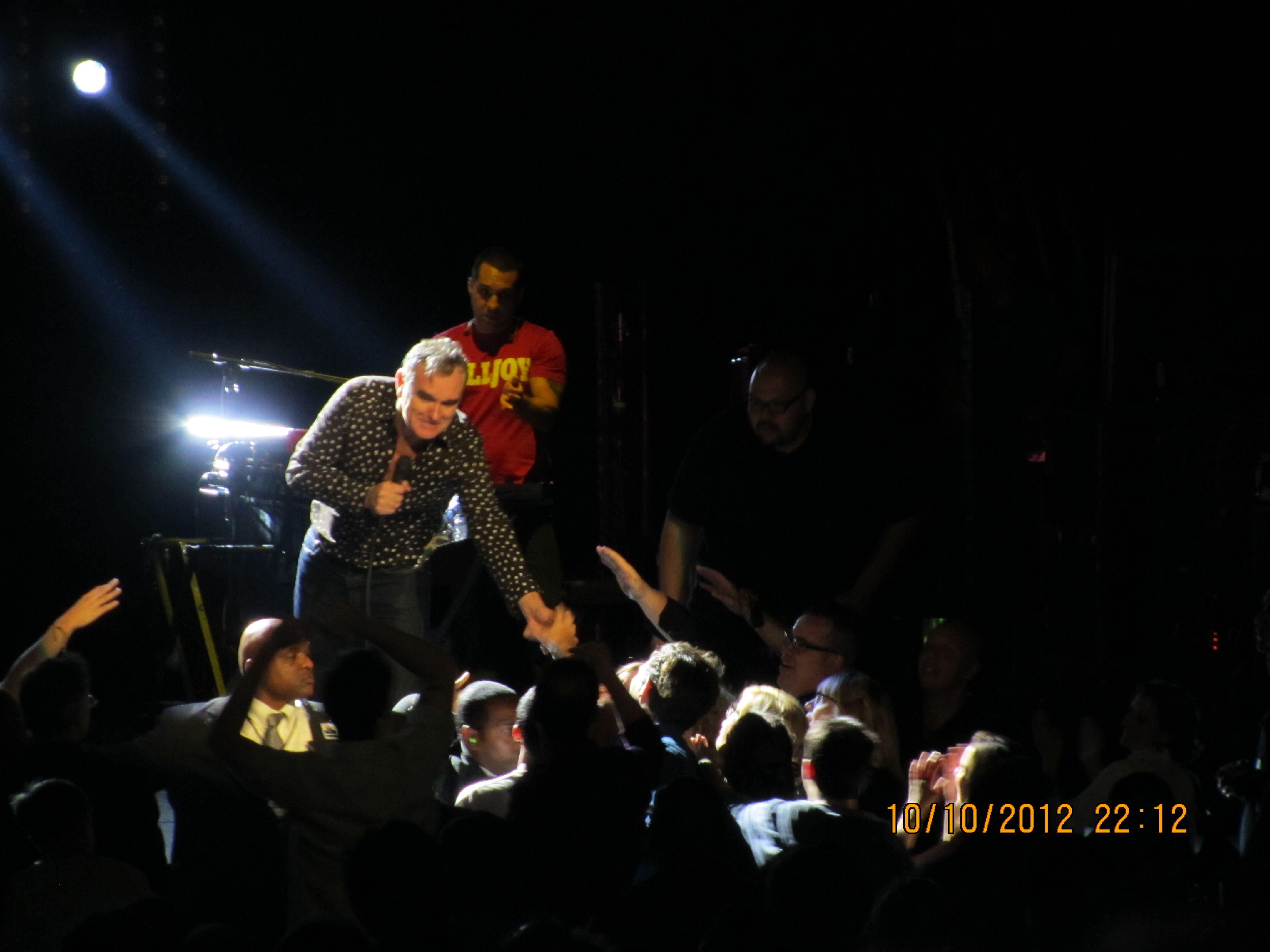Morrissey at Radio City Music Hall, NYC