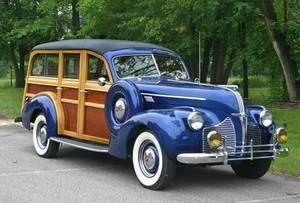1940 Pontiac Woody Wagon