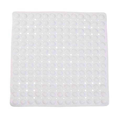 Bath Mat With Drainage Holes For Babies Suction Cup Shower And