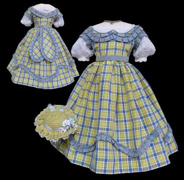 Calixte, a Huret Doll #dollvictoriandressstyles
