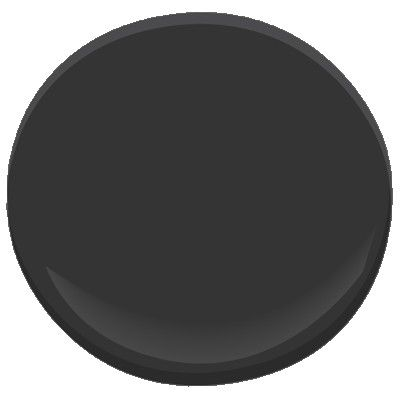 Benjamin Moore jet black 2120-10 | Paint colors, Exterior paint ...