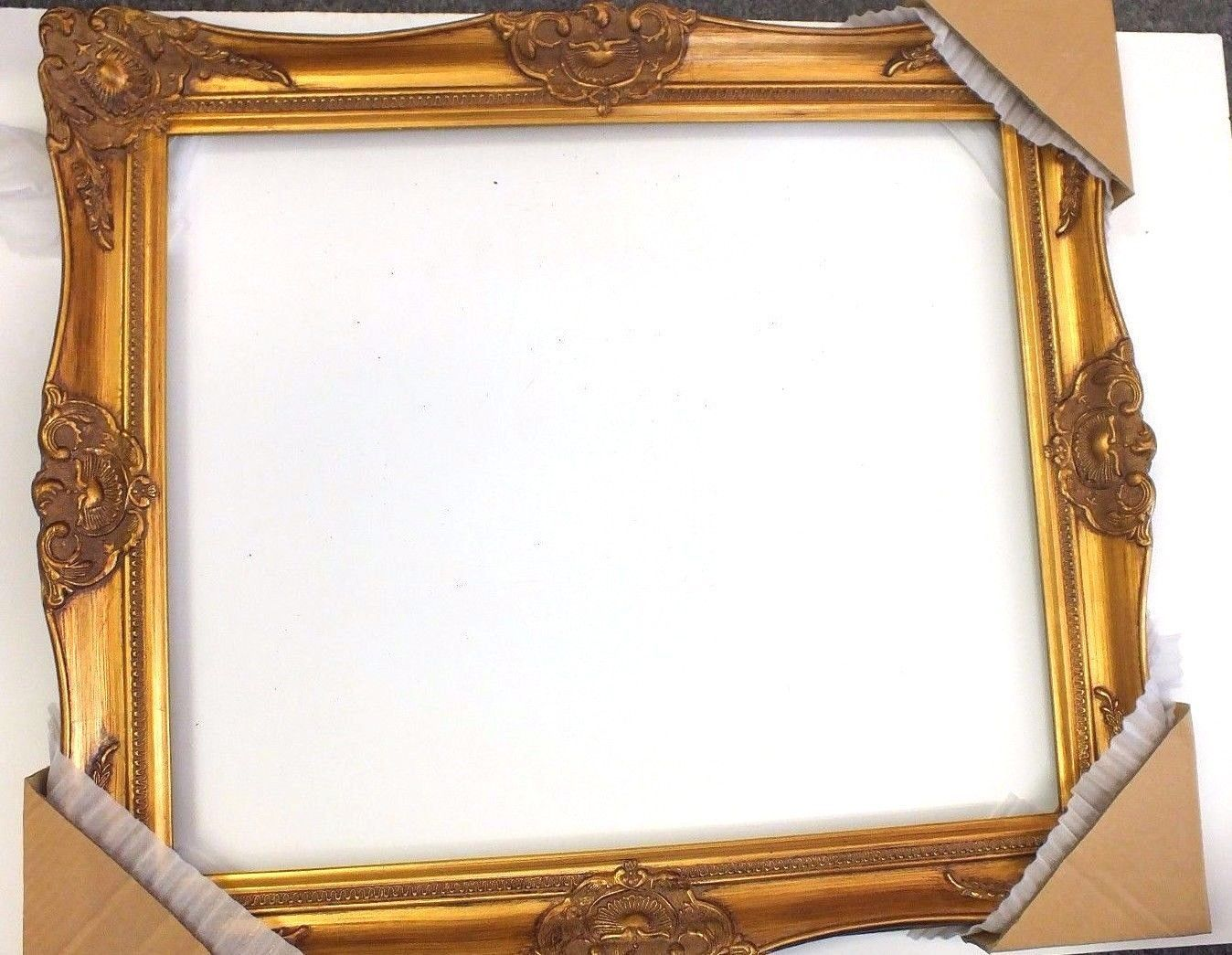 Gold leaf ornate heavy picture frame 20 x 24 victorian wild west gold leaf ornate heavy picture frame 20 x 24 victorian wild west ebay jeuxipadfo Choice Image