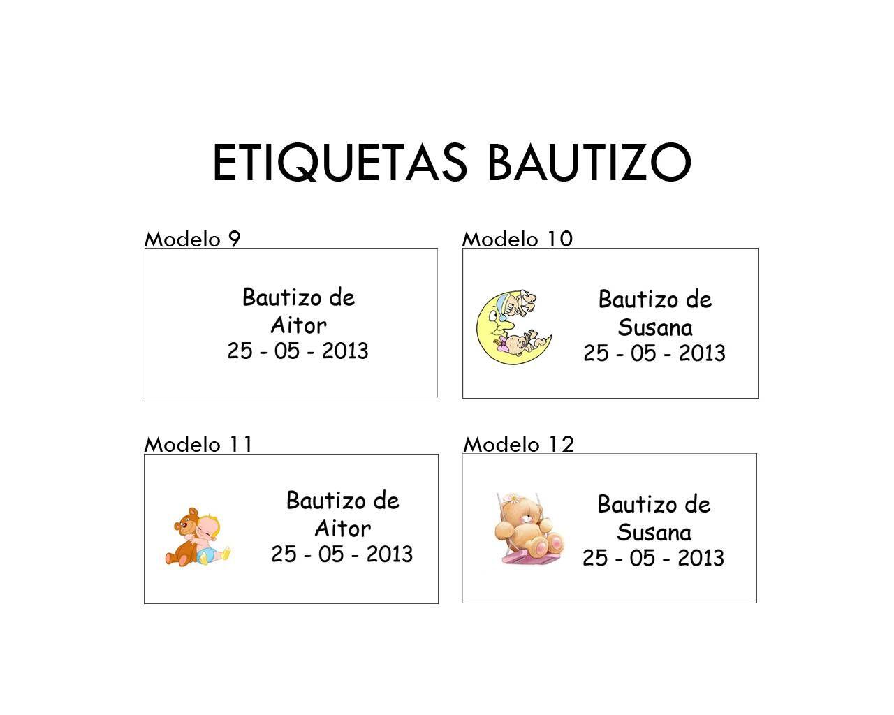 etiquetas para regalos de bautizo para imprimir gratis imagui
