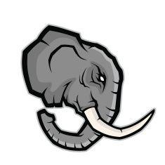 Gator Mascot Stock Photos Illustrations Elephant Logo Design Logo Illustration Elephant Illustration