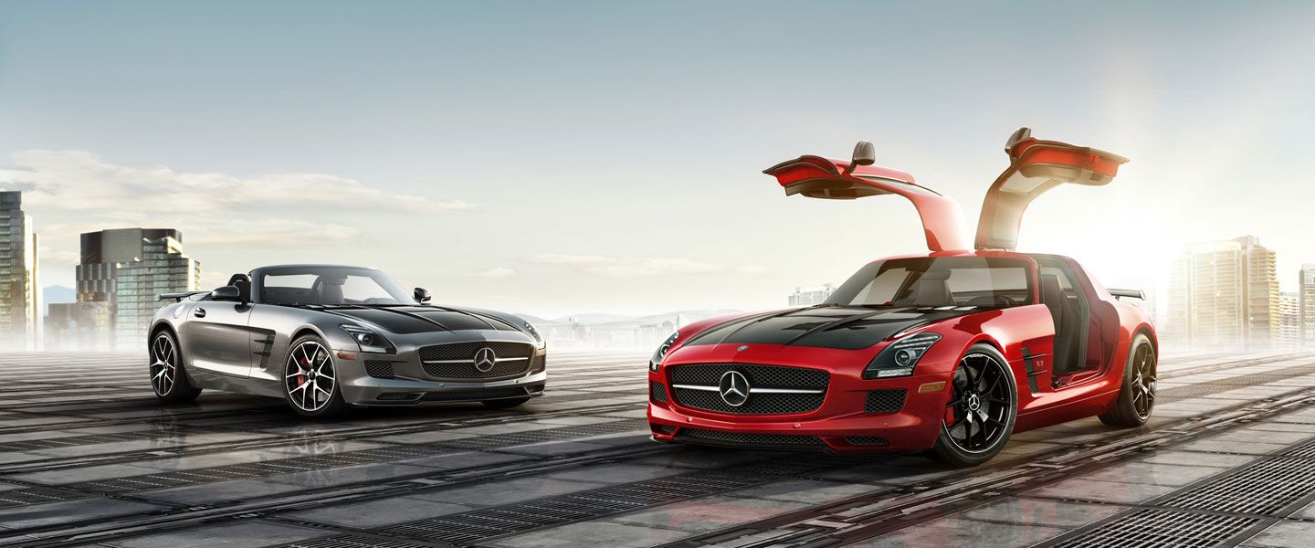 Mercedes Benz Sls Amg Gt Coupe And Roadster High Performance