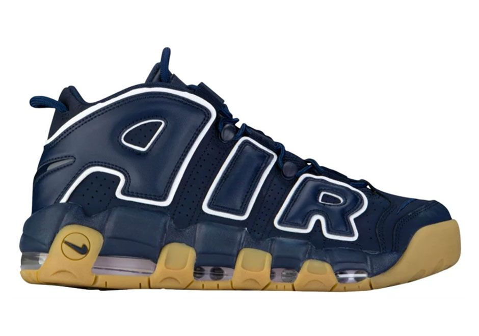finest selection 7b807 5a42a Nike Air More Uptempo Obsidian Gum Release Date 921948-400   What s Crackin       Nike air, Nike air uptempo, Nike